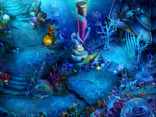 壁纸 海底 海底世界 海洋馆 水族馆 桌面 500_375